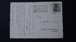 Germany - 1937 - Mi:DR 644, Sn:DE 482, Yt:DR 592 - Vorsicht Mit Feuer In Wald Und Heide - Look Scans - Marcofilie - EMA (Print Machine)