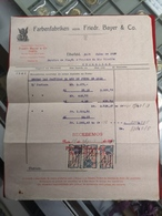 DOCUMENTO 31-7-1910 FARBENFABRIKEN FRIEDR. BAYER E CO. - Portugal