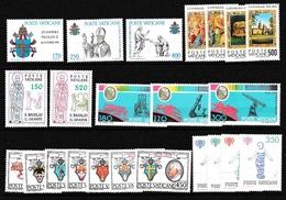 1979 Vaticano Vatican ANNATA  YEAR 6 Serie MNH** - Vatican
