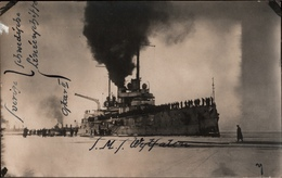 ! 3 Seltene Fotokarten, März 1918, Photos, Aland, Eckerö, Kriegsmarine SMS Westfalen 1. Weltkrieg, Finnland-Intervention - Guerra 1914-18