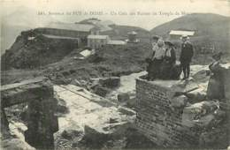 Sommet Du Puy De Dome , Montagne  (tramway Petit Train) , * LC 380 50 - Non Classificati