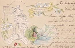 ARBALETE(ZURICH) CARTE GAUFREE - Tir à L'Arc