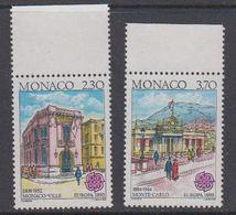 Europa Cept 1990 Monaco 2v (+MARGIN)  ** Mnh (44401) - 1990