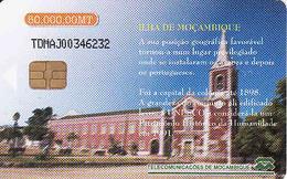 Mozambique Chip 50 000 MT,  UNESCO, Eglise, Church, Used - Mozambique
