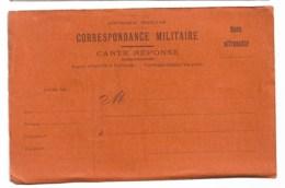 Correspondance Militaire, Franchise , Carte Vierge  Ref 9 - Guerre 1914-18