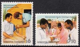UNO Wien MiNr. 83/84 ** Internationaler Tag Des Entwicklungshelfers - Sonstige - Europa