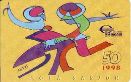 Cape Verde Chip 50 1998, Kola Sanjon,  Used - Cape Verde