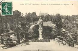 53 , EVRON , Jardins De La Communauté Et L'hopital , * 383 62 - Evron