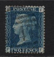 GB Victoria Line Engraved   2d Blue   Plate 14 - 1840-1901 (Victoria)