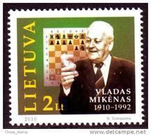 Lietuva Litauen - Schach Chess - 2010 - Vladui Mikenui - Schach