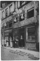 """BRUXELLES : Restaurant """"A L'Epaule De Mouton"""", Rue Des Harengs - Belle Animation - Bar, Alberghi, Ristoranti"""