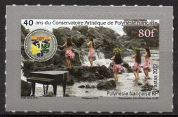 Polynésie Française 2019 - Dance Artistique, Conservatoire Artistique De Polynésie - 1 Val Neuf // Mnh - Polinesia Francese