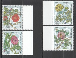 S1115 1997 SOOMAALIYA FLORA FLOWERS ROSES MICHEL 20 EURO 1SET MNH - Roses