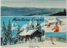 Montana-Crans - SKI - Haut-Plateau, Alpes Valaisannes - (Suisse/Schweiz) - VS Valais