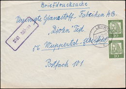 Landpost-Stempel Röhrse Auf Brief LEHRTE 19.4.63 Nach Wuppertal-Elberfeld - [7] Repubblica Federale
