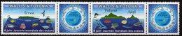 Wallis & Futuna 2019 - Faune Marine, Tortues, Journée Mondiale Des Océans - 2 Val Neuf // Mnh - Neufs