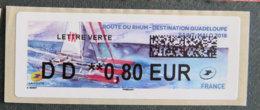 FRANCE - VIGNETTES ILLUSTREES - 2018 - VIG 274 - ROUTE DU RHUM - 2010-... Illustrated Franking Labels