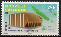Nouvelle-Calédonie 2019 - 70e Anniversaire Du Siège De La CPS - 1 Val Neuf // Mnh - Nouvelle-Calédonie