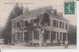 AUBE - SOULAINES - Le Château De Saint Victor  ( - Petite Animation - Timbre à Date De 1911 ) - France