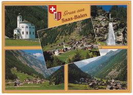Gruss Aus Saas-Balen 1483 M Wallis - (Suisse/Schweiz) - VS Valais