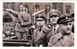 Propaganda Karte, Der FÜHRER Nimmt Den Volksmarsch Im Saargebiet Ab, Stpl. Rundfunkausstellung Berlin - Weltkrieg 1939-45