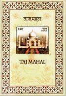 5X INDIA 2004 Taj Mahal; Miniature Sheet, MINT - India
