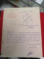 DOCUMENTO THOMSON HOUSTON IBERICA DOCUMENTO COM DATA DO ULTIMO DIA DA MONARQUIA EM PORTUGAL - Portugal