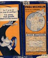 Carte Géographique MICHELIN - N° 066 DIJON - MULHOUSE N° 3029-5.212 - Cartes Routières