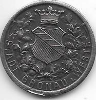 *notgeld Gronau 50 Pfennig 1919 Fe  5218.3 / F 173.3 - [ 2] 1871-1918 : Empire Allemand