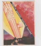 """Africa Orientale , 6° Divisione CC. NN. """"Tevere"""" """"Molti Nemici Molto Onore"""" , Illustrata Gargiulo  - F.G. - Anni '1930 - Altre Guerre"""