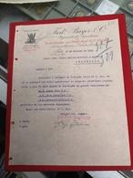 DOCUMENTO FRED BAYER & C. RUA DAS FLORES 17 OUTUBRO 1910 - Portugal