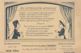 LYON      FABRIQUE DE COUTELLERIE  ADOOR           GUIGNOL - Chromos