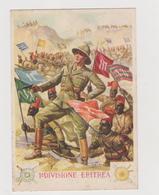 Africa Orientale , I° Divisione Eritrea , A.O. , Illustrata Da La Monaca - F.G. - Anni '1930 - Altre Guerre