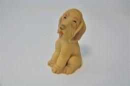 PIEPER POUET SQUEAKY: MAYER PAT PEND DOG  - L=11 - Rubber - Vinyl -1950's - Schtroumpfs