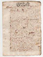 Acte 1678 De 4 Pages - Manuscripts