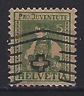 Switzerland 1917  Pro Juventute (o)  Mi.134 - Pro Juventute