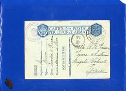 ##(DAN198)-Italia1941-cartolina Post. Forze Armate,da Comando Distaccamento R.Guardia Di Finanza-Marina Di Pisa - Poste Militaire (PM)