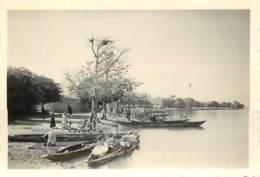 MALI - GAO - LES BORDS DU FLEUVE NIGER - 1953 - Bateaux