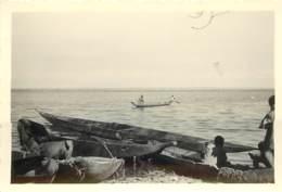 MALI - GAO - PECHEURS ET EMBARCATIONS SUR LE NIGER - 1953 - Lieux