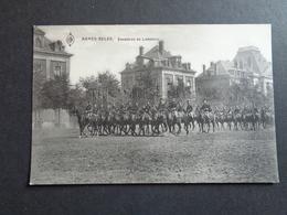 Armée ( 23 ) Belge   :  Escadron De Lanciers - Regimientos