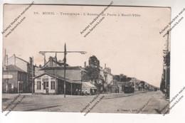 CPA RUEIL (92) : Tramways - L'avenue De Paris à Rueil Ville - Rueil Malmaison