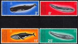 Britische Gebiete In Der Antarktis MiNr. 64/67 ** Schutz Der Wale - Britisches Antarktis-Territorium  (BAT)