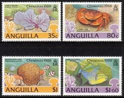 Anguilla MiNr. 791/94 ** Weihnachten, Fische, Meerestiere - Anguilla (1968-...)