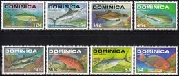 Dominica MiNr. 1174/81 ** Fische - Dominica (1978-...)