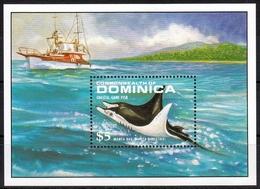 Dominica MiNr. Bl. 143 ** Fische - Dominica (1978-...)