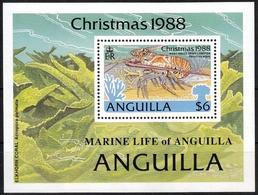 Anguilla MiNr. Bl. 81 ** Karibische Languste - Anguilla (1968-...)