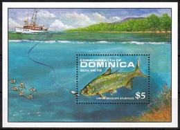 Dominica MiNr. Bl. 144 ** Fische - Dominica (1978-...)