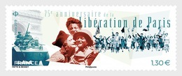 H01 France 2019 75th Anniversary Of The Liberation Of Paris MNH Postfrisch - Ungebraucht