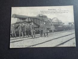 Armée ( 29 ) Belge   :   Train D' Artillerie  Trein - Manoeuvres