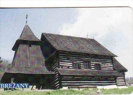 Slovaquie 2002,Slovak Telecom Chip, 3/2002, église En Bois-Brežany, Used - Slovaquie